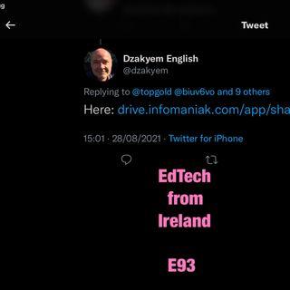 Chatting to @dzakyem about syllabus returns E93