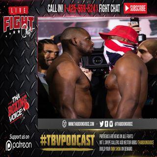 🚨Dillian Whyte vs Dereck Chisora 2 🇬🇧LIVE FIGHT CHAT🔥🥊