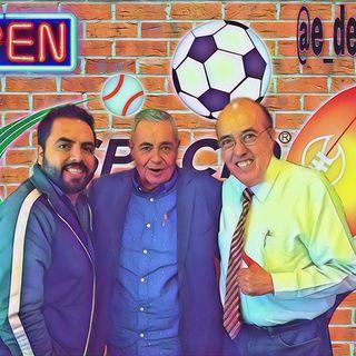 Llegamos al jueves Rudo, Pepe y Alex en Espacio Deportivo de la Tarde 18 de Marzo 2021
