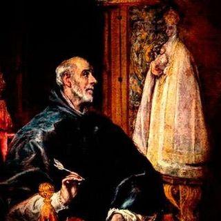San Ildefonso de Toledo, obispo