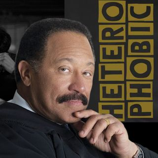 EXPLICIT LANGUAGE:  CAUGHT:  JUDGE JOE BROWN Takes On A HETEROPHOBE (gay - BIG MEECH)