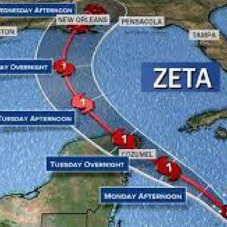 Hurricane Zeta Live