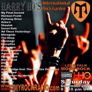 Harry Ho's intern. Rock Garden 28.12.2019