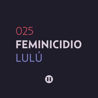 25. Feminicidio de María de Lourdes Martínez | Que Nadie Nos Olvide