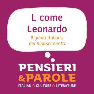 20_L come Leonardo