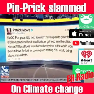 EHR 523 Morning moment Pin-Prick Cortez Slammed on climate change Mar 12 2019