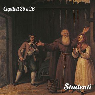 I Promessi Sposi: Capitoli 25 e 26