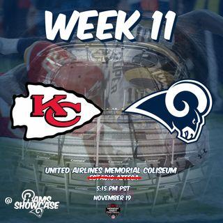 Rams Showcase - Week 11 - Chiefs @ Rams