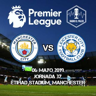 Manchester City vs Leicester City en VIVO