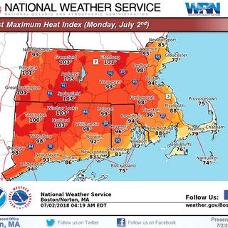 Fourth Day Of 90-Degree Temps In Store For Much Of Massachusetts