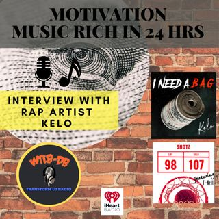 Motivation Music Anything You Can Go Get is Possible with Rap Artist Kelo