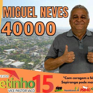 Miguel Neves Vereador.40.000