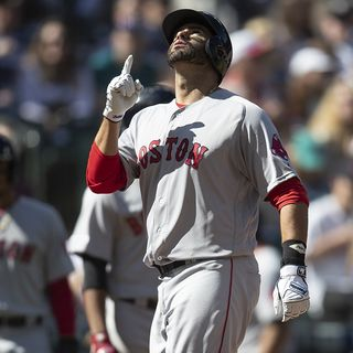 Historic Hit For Red Sox Slugger J.D. Martinez In Seattle
