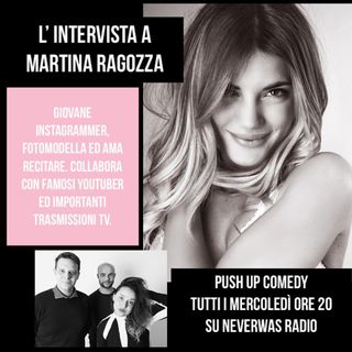 #puc : in studio con noi Martina Ragozza !