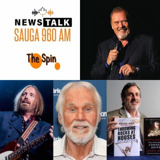 The Spin - March 23, 2020 - Conversations with David Clayton-Thomas & Tribute to Kenny Rogers and Tom Petty