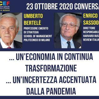 23 ottobre 2020 - Conversazione con Enrico Sassoon e Umberto Bertelè