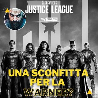 "Snyder's cut ""Una sconfitta per la Warner?"""
