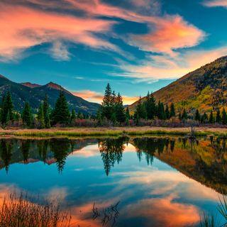 Guardare la bellezza della natura...
