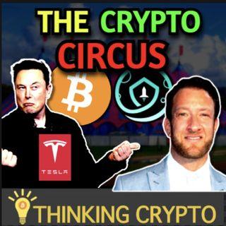 Crypto Circus Continues - Tesla & Elon Musk Holding Bitcoin & Dave Portnoy Shills Safemoon