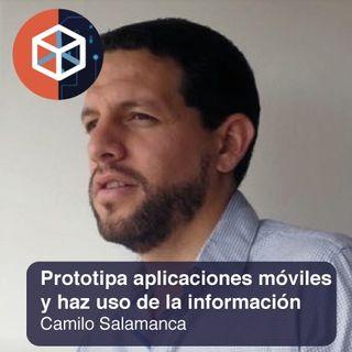Prototipa aplicaciones móviles y haz uso de la información
