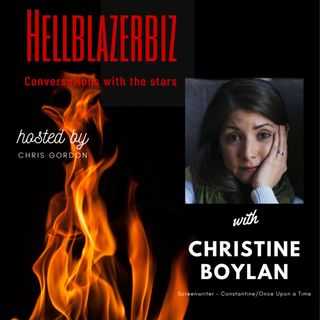 NBC Constantine writer Christine Boylan talks to me about the craft and more