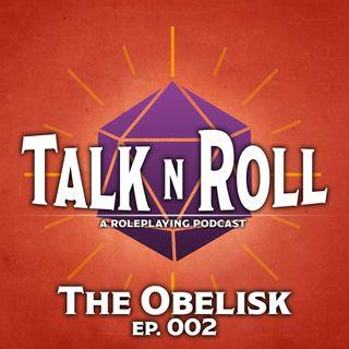 TNR 002: The Obelisk