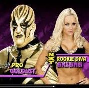 Orton smashes Diva and Goldust raw