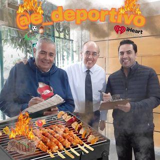 Que coman Rico, Que coman sabroso con  Espacio Deportivo de la Tarde 08 de Octubre 2019
