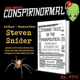 Conspirinormal Episode 312- Recluse 2 (Strange Tales of the ParaPolitical)