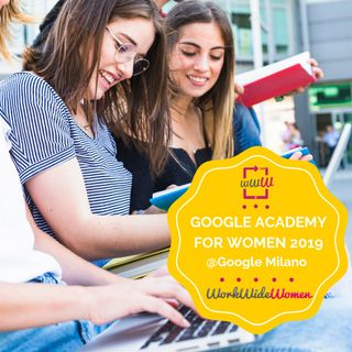 Google Academy 09.05.2019 GSuite: intervista a Marinella Scarico