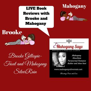 Live Book Review with Brooke and Mahogany Breaking Rebecka and Homework