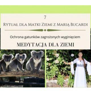 Moje sprawozdanie osobiste z 7 Rytuału dla Matki Ziemi - Maria Bucardi 25.04.2013 Ochrona gatunków zagrożonych