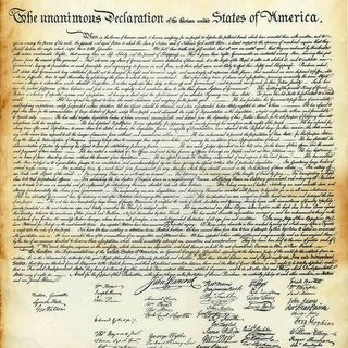 Jefferson's Original Draft of the Declaration of Independence Condemned Slavery +