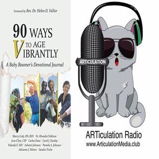 ARTiculation Radio — VIBRANTLY VIBRATING VERBATIM (interview w/ Author Marcy Cody RN)