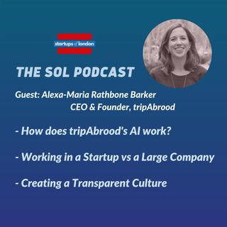 Discovering a New Sky with Alexa-Maria Rathbone Barker, CEO & Founder of tripAbrood