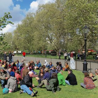 XR Debrief Session: note-takers summarise group discussions (Speakers Corner, Hyde Park, 26th April 2019)