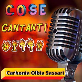 Carbonia Olbia e Sassari- cose cantanti e città