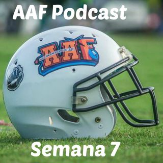 Temporada Regular AAF Semana 7