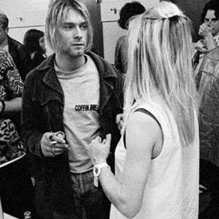 Kim Gordon & Kurt Kobain