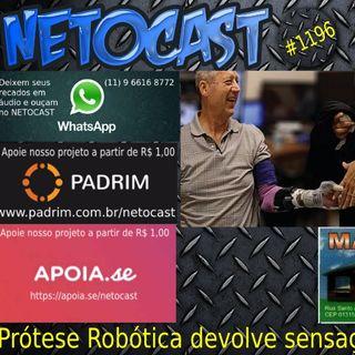 NETOCAST 1196 DE 27/09/2019 - Protése de mão devolve aos usuários a sensação do toque