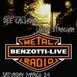 Benzotti Live Screaming Mad Dee Calhoun In Studio !