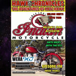 "Episode 118 Hawk Chronicles ""Indian Trouble"""