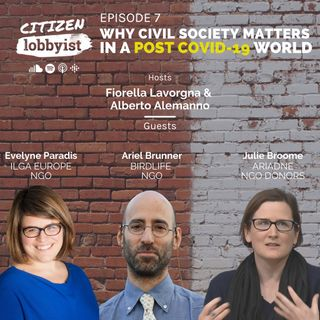 Ep7 I Why civil society matters in a post Covid-19 world