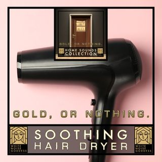 Soothing Hair Dryer | White Noise | ASMR & Relaxation