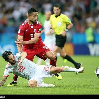 Iran-Spagna 0-1. Lo sfogo di Azmoun. Ora il Portogallo