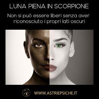 OROSCOPO DELLA LUNA PER TUTTI I SEGNI: Luna piena in Scorpione dal 27 Aprile al 10 Maggio