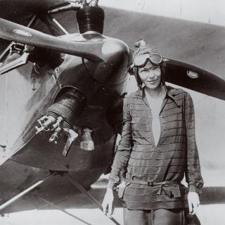 Donne Nuove Pioniere e Protagoniste del 900 Amelia Earhart, la prima trasvolatrice atlantica