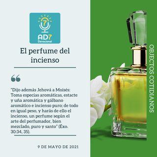 9 de mayo - El perfume del incienso - Devocional de Jóvenes - Etiquetas Para Reflexionar