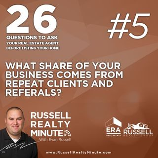 What share of your business comes from repeat clients and referrals?