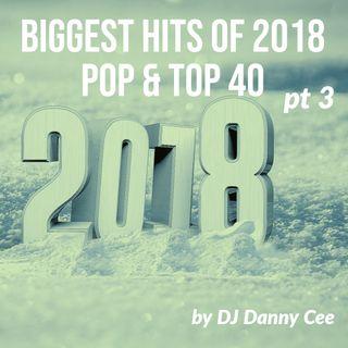 Biggest Hits of 2018 Pop & Top 40 Pt 3 DJ Danny Cee (v)